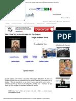 Hiljot Talmud Tora, Las Leyes Del Estudio de La Tora, Rambam, Maimonides _ Masuah