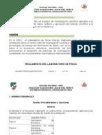 NORMAS DEL LABORATORIO DE FÍSICA