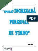 Afiche Personal