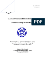 Nanotechnology White Paper (Final) - February - 2007