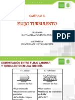 FLUJO TURBULENTO