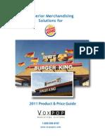 Burger King 2011