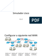 Simulador Cisco