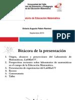 Laboratorio Educación Matemática