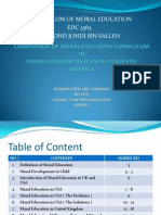 Curriculum of Moral Education Ppt