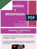 Climaterio y Menopausia