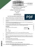 Math 2009 Unit 1 P1