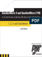 BW GasAlertMicro5 Manual