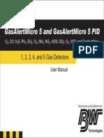 BW GasAlertMicro5 Manual
