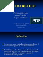 Clase Pie Diabetico 2012