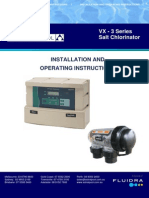 VX 3 Series Salt Chlorinator Manual
