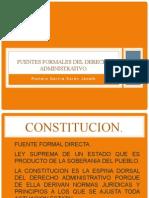 1 Fuentes Formales Del Derecho Administrativo
