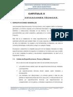 1.- Especificaciones Tecnicas