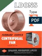 Centrifugal Fan Design