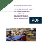 Fundamentacion de La Educacion Basica