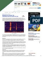 APOLO11- Omistério dos sons do fundo do mar