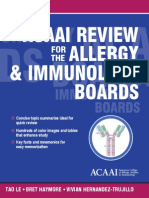 Alergy Immunology Review