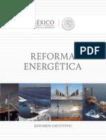Resumen Ejecutivo Reforma Energetica 2013