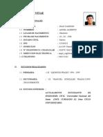 Curriculum Vitae Diaz Carrion Angel