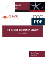ITILV3 and Information Security White Paper May09