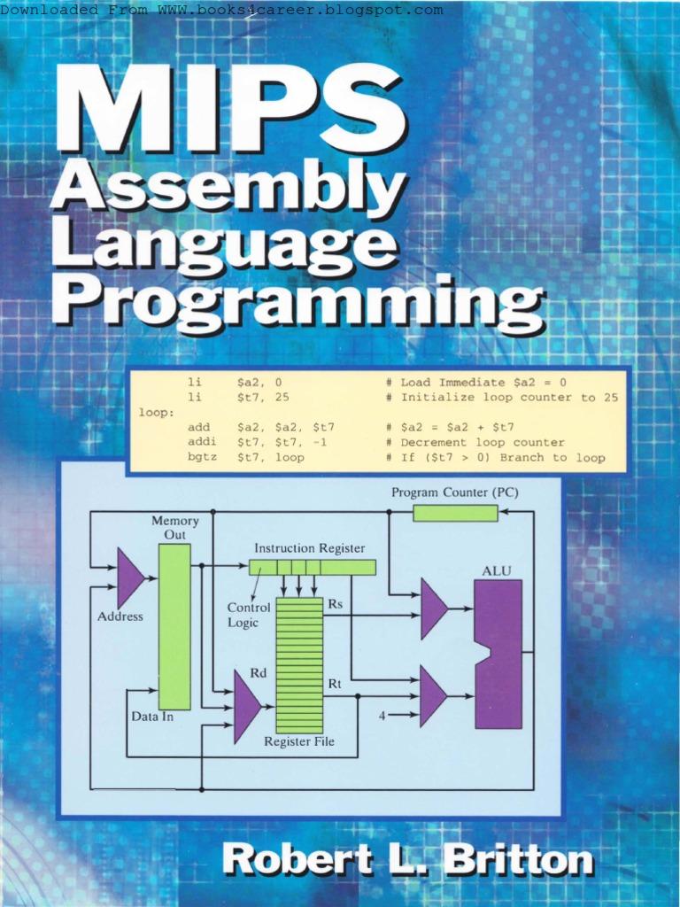 Mips Assembly Language Programming Instruction Set Subroutine Binarydecimal Counter Circuit Diagram Measuringandtestcircuit
