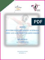2013 Nationals Information Pack 1