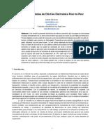 Bitcoin paper translation - Spanish Draft v1