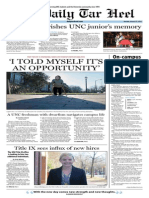 The Daily Tar Heel for Jan. 27, 2014