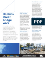 FDP Hopkins St Bridge