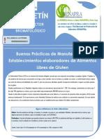 BPM en Alimentos Librres de Gluten
