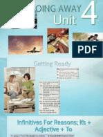 Going Away Unit 4
