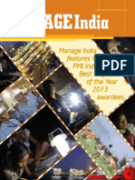 Manage India features PMI India Best Project of the Year 2013 awardees
