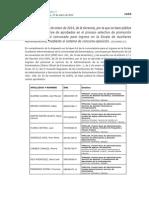 Promoción interna horizontal para Auxiliares Administrativos de la UEx. Aprobados definitivos