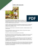 Propiedades Nutritivas Del Amaranto