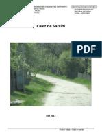 Caiet de Sarcini