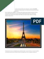 Turnul Eiffel ,Arcul de Triumf ,Bazilica Sacré Coeur ,Sainte-Chapelle, Paris
