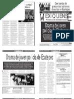 Versión impresa del periódico El mexiquense 27 enero 2014