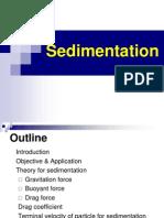 Ch6 Sedimentation