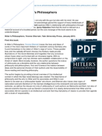 Blogs Lse Ac Uk-Book Review Hitlers Philosophers