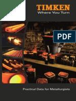 Timken Practical Data for Metallurgists