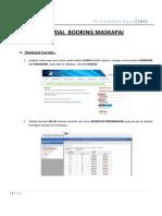 Tutorial Booking Maskapai