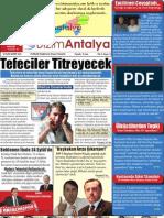 Bizim Antalya Gazetesi Yıl:1 Sayı:1