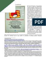 Tradició La Batalla De Rates De La Lleva Del Puig