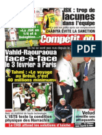Journal Competition Sport Du 27.01.2014