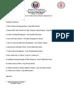 Standing Committees 2014