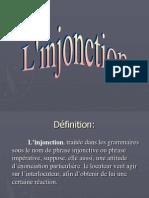 Prezentare L'Injonction