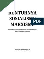 RUNTUHNYA SOSIALISME-MARXISME