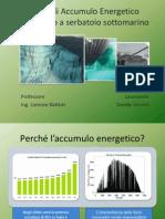 Sistemi CAES per l'Accumulo Energetico Sottomarino_Sintesi