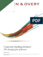 Corporate Funding Trends