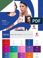 Neva AG Cosmetics Private Label Catalog 2014